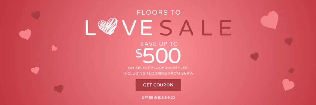 Love sale banner   Everlast Floors