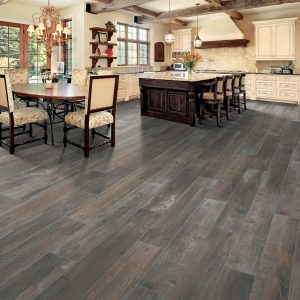 Spacious room with dining table and cabinets | Everlast Floors