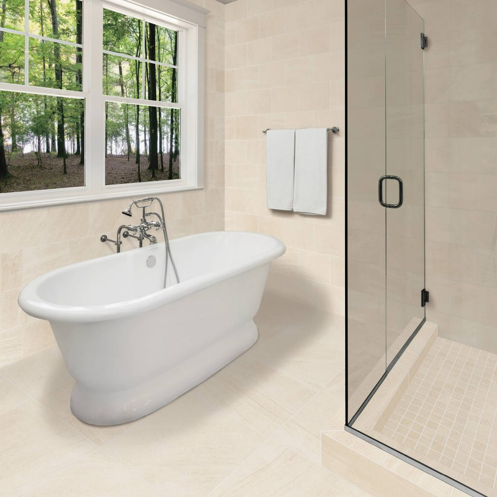 Glacier Cove Everest White bathtub | Everlast Floors