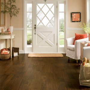 Walnut cove luxury vinyl tile | Everlast Floors