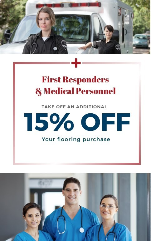 First Responders Discount | Everlast Floors