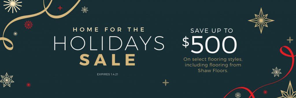 Home for the Holidays Sale | Everlast Floors